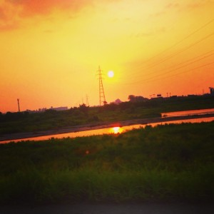 いつかの夕陽 富山