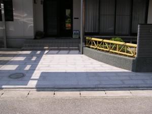 和風のこだわり塀と庭 富山市2