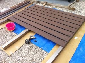 板塀フェンス完成