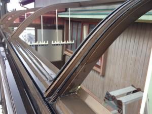 テラス囲いの屋根張替補強
