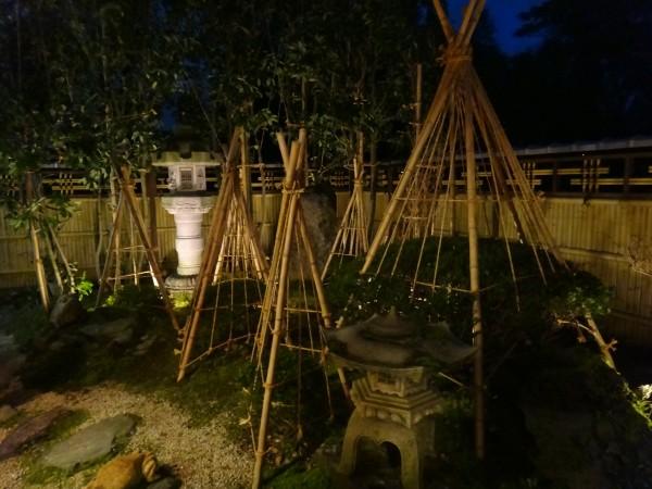 エバー15型のデザイン竹垣 エクステリア 富山4