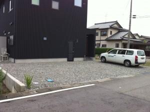 シンプルモダンな外構工事 富山市