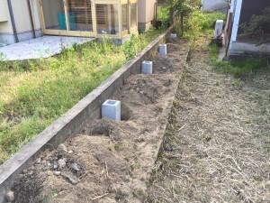草刈り・フェンスブロック
