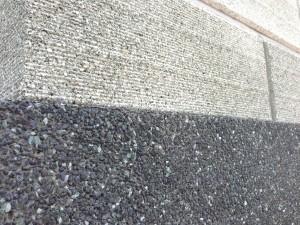ストーン500 蛇紋洗い出し 富山市