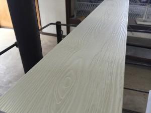 樹脂板塀のアイボリー色