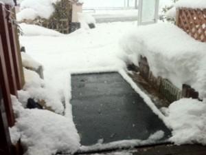 融雪マット健在です^^
